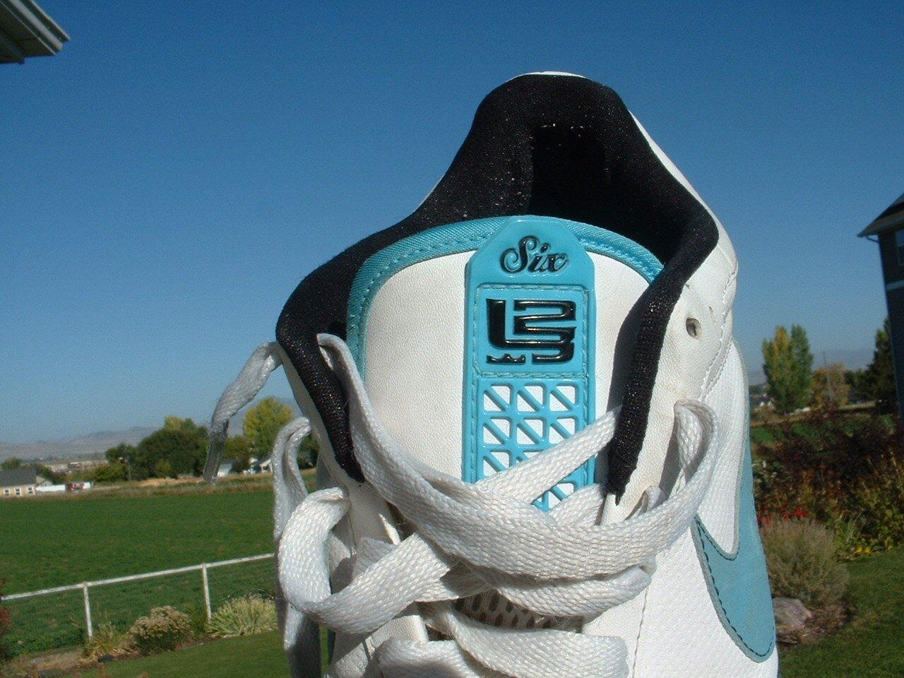 Early 1990's Nike Zoom Zoom Zoom X2 Six 123 Low Top Vintage Tennis schuhe PRETTY NICE 16b9f4