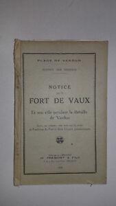 De Verdun - Instrucciones En El Fuerte De Vaux - Ediciones M. Frémont-1931