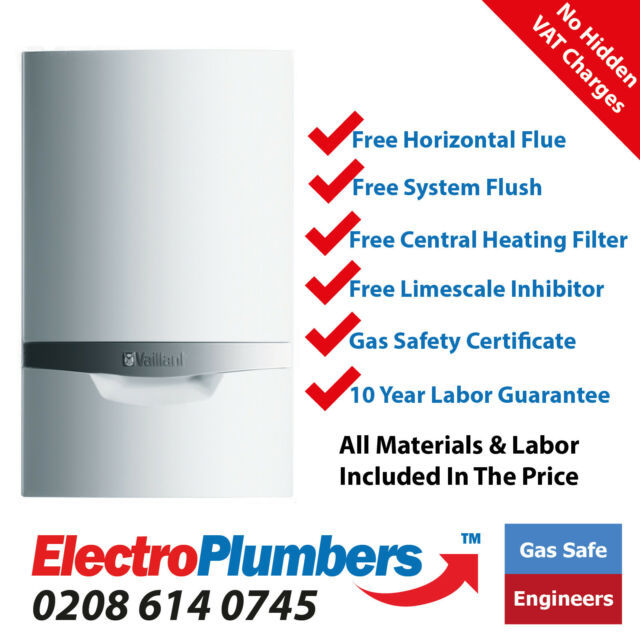 Vaillant ecoTEC 65kw Commercial Regular Heat Only Boiler Supplied ...