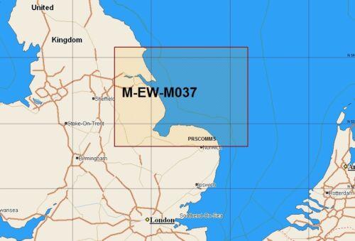 map L27 Max M-EW-M037 C local C-tarjeta Cromer a Bridlington Bay