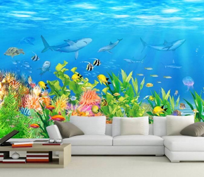 3D Pretty Seabed 74 Wall Paper Murals Wall Print Wall Wallpaper Mural AU Kyra