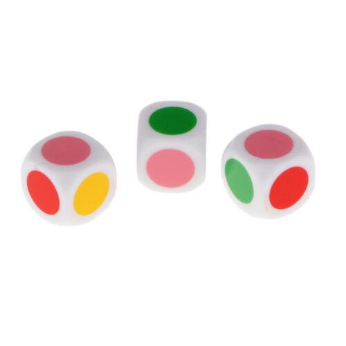 16x D6 6 Seitige Würfel Set Würfel mit Stein Papier Schere für Kinder