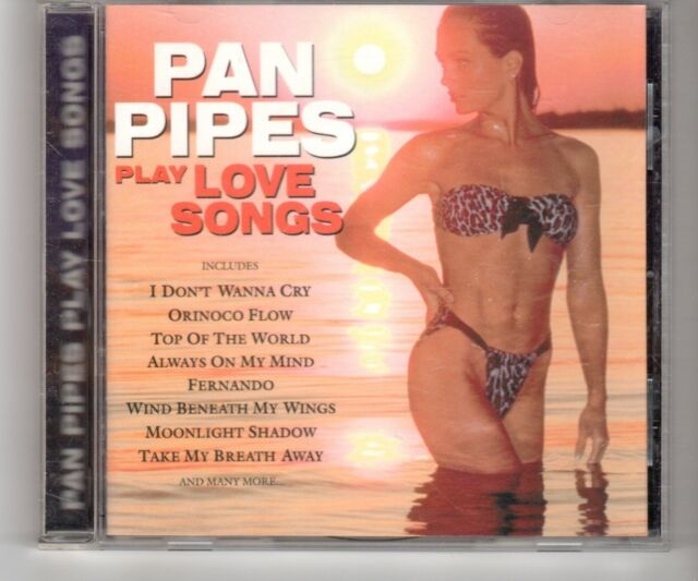 (HO771) Pan Pipes play Love Songs - 1996 CD