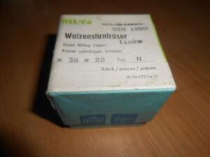 Fräser - Walzenstirnfräser - 50x36x22 Links - Walzen Stirnfräser  NEU