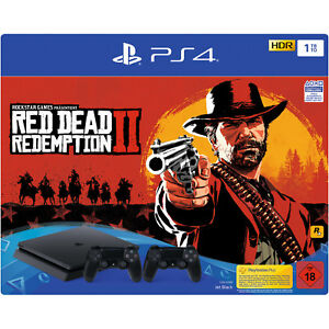 SONY-PlayStation-4-1TB-Red-Dead-Redemption-2
