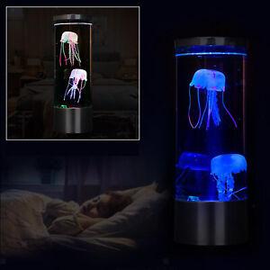 LED Nachtlicht Fantasy Aquarium Hypnotischen Farbwechsel Lampe Kinder Wohnkultur