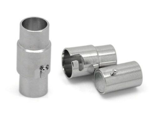 Lot de 5 Sets Fermoirs aimant magnétiques pr Collier 15.5x7mm