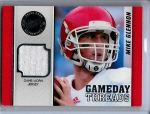 2013-Press-Pass-Showcase-Mike-Glennon-Jersey-NC-State-Gameday-Threads