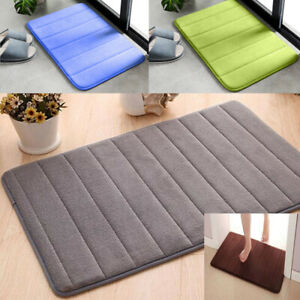 Non-slip-Absorbent-Soft-Rug-Memory-Foam-Bath-Bathroom-Bedroom-Floor-Shower-Mat