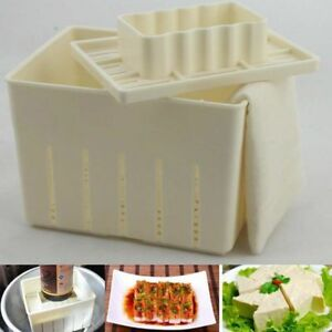 Reuseabable-Tofu-Maker-STAMPA-STAMPO-KIT-di-soia-premendo-stampo-fai-da-te-Strumento-crea-Tofu