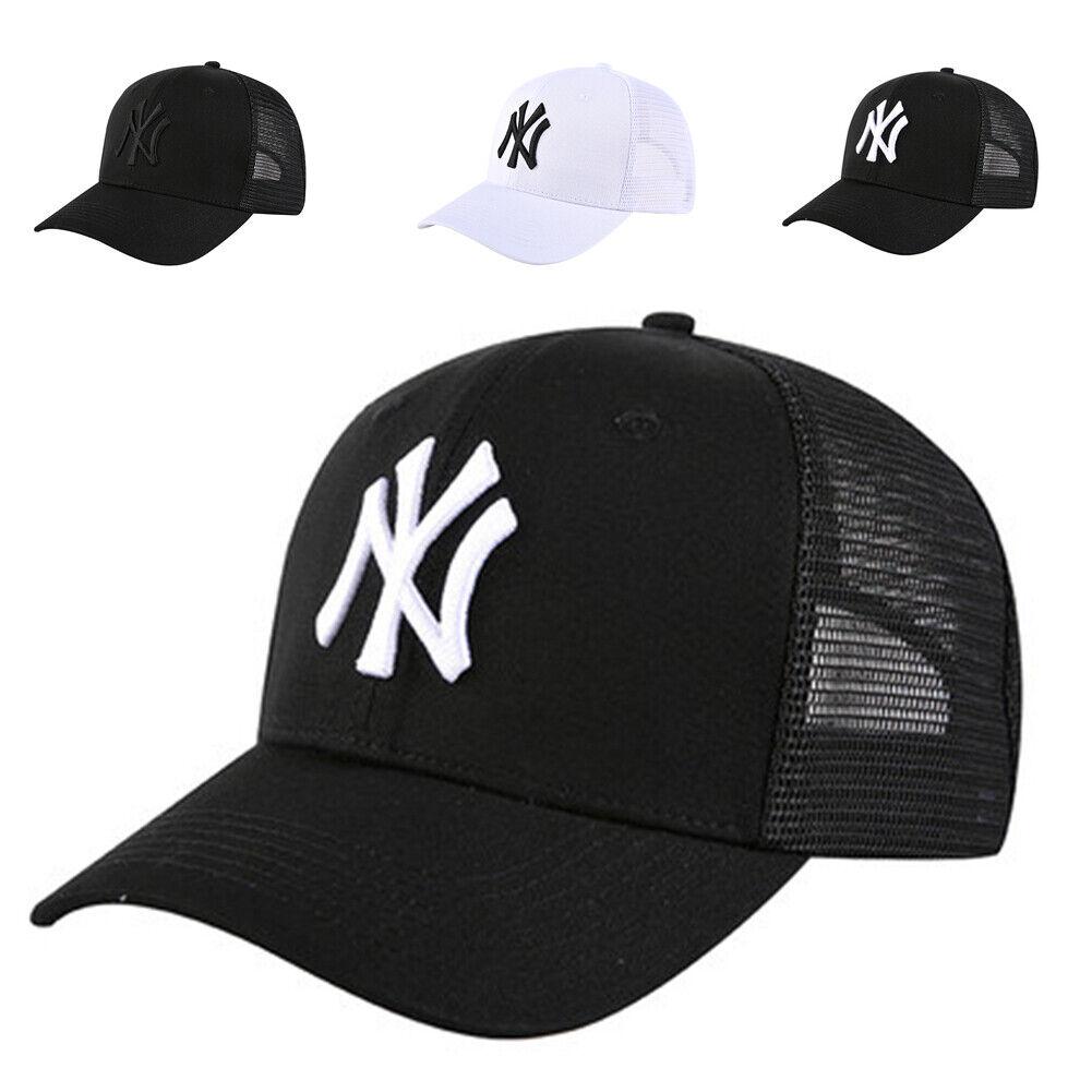 Atmungsaktive Mesh NY New York Yankees Hut Sport Baseball Cap Frauen Männer Neu