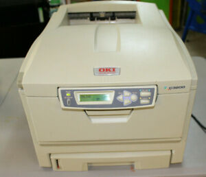 Details about Okidata Oki C3200 Color Workgroup Laser Printer Plus Manual  Tested and Works
