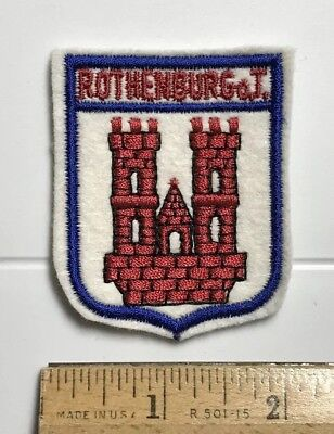 The coat of arms of Hamburg Embroidered PATCH//BADGE