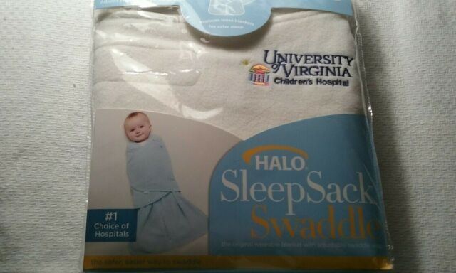 Halo Newborn Baby Sleep Sack Swaddle New in Package White ...