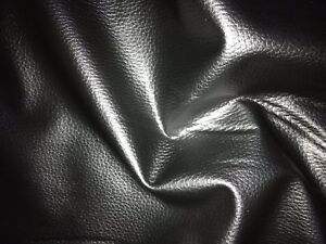 Pvc fabric faux leather soft feel textured leatherette vinyl