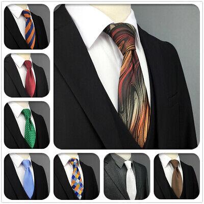 S&W SHLAX&WING Silk Ties for Men Paisley Mens Neckties Blue Green New | eBay