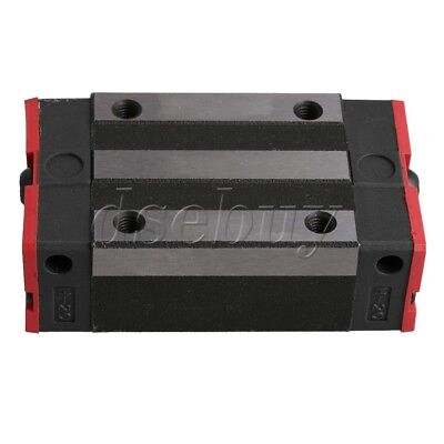 40cm Length Bearing Steel MGN15 Linear Sliding Guide /& 2 Extension Block