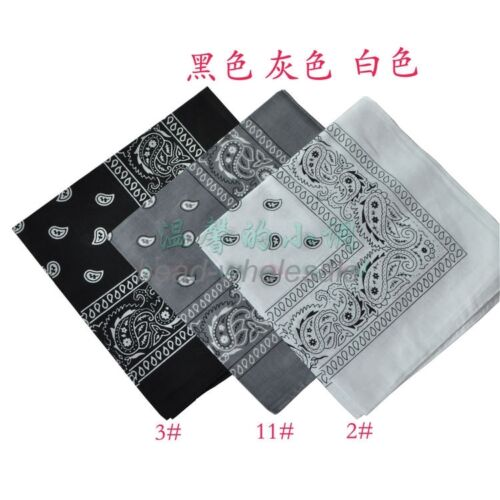 Paisley Bandana Bandanna Headwear//Hair Band Scarf Neck Wrap Band Head tie Uw
