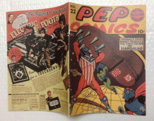 Pep Comics #22 Photocopy REPLICA Comic Book - 1st Archie (see details)