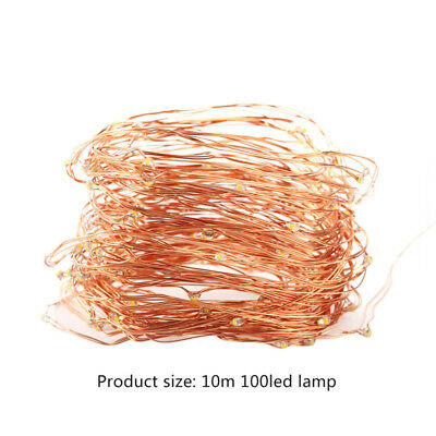 5M 10M LED String Copper Wire Fairy Lights Battery USB Xmas Party Fairy Lamp