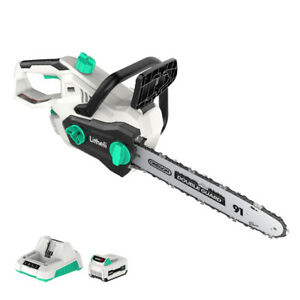 """LiTHELi 40V Cordless Brushless 14"""" Chainsaw w/ 2.5AH Battery & Charger"""