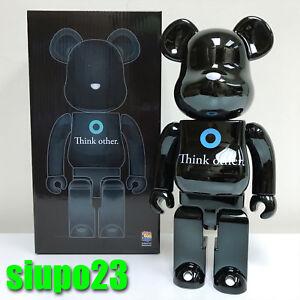 15e3fd4a10dff Medicom 400% Bearbrick ~ i am OTHER Be rbrick Black Version Pharrell ...