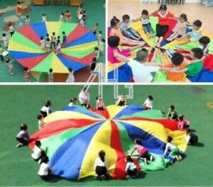 3M-Bambini-Giocattolo-Paracadute-Sport-Giochi-All-039-aperto-Lavoro-di-Squadra