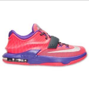 Nike KD VII 7 GS SZ 5.5Y Hyper Punch