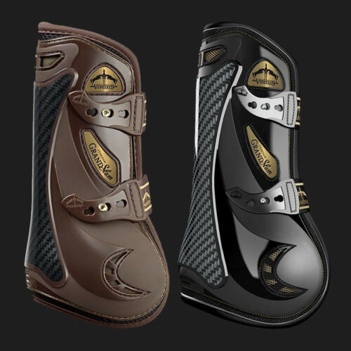 Veredus GRAND SLAM Carbon Gel Vento Airflow Cooling TENDON Boots BlackBrown ML