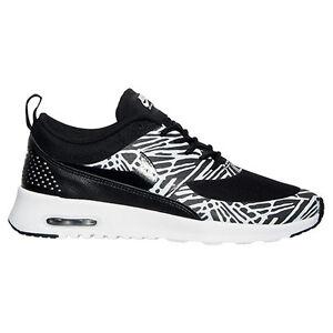 New Nike Women's Air Max Thea Print Shoes (599408 010) Black