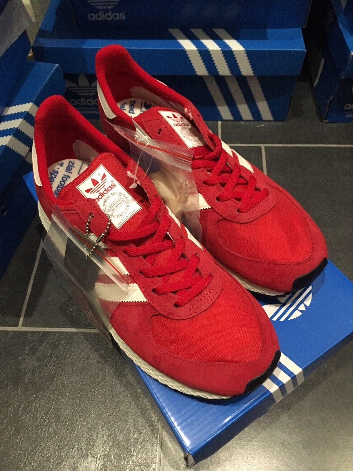 Adidas Atlanta SPZL Spezial Trainer 8 42 Deadstock OG Retro rot rot 80s Runner