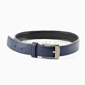 Cintura-In-Ecopelle-Blu-Bambino-SARABANDA-J806