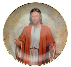 Danbury-Mint-Prince-Of-Peace-Come-Unto-Me-William-Luberoff-Religious-Plate