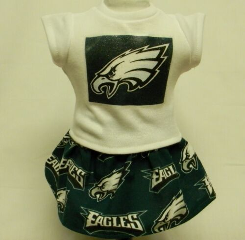 Philadelphia Eagles Theme Outfit For 18 Inch Doll