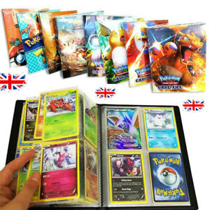 2019-Pokemon-Cards-Album-Book-List-Card-Collectors-Capacity-Cards-Holder-UK