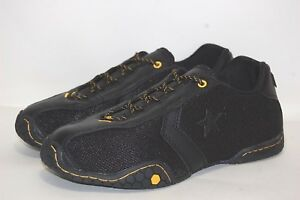 6a92c369fe924 Image is loading Converse-Catch-22-OX-1Q929-Black-yellow-Women-