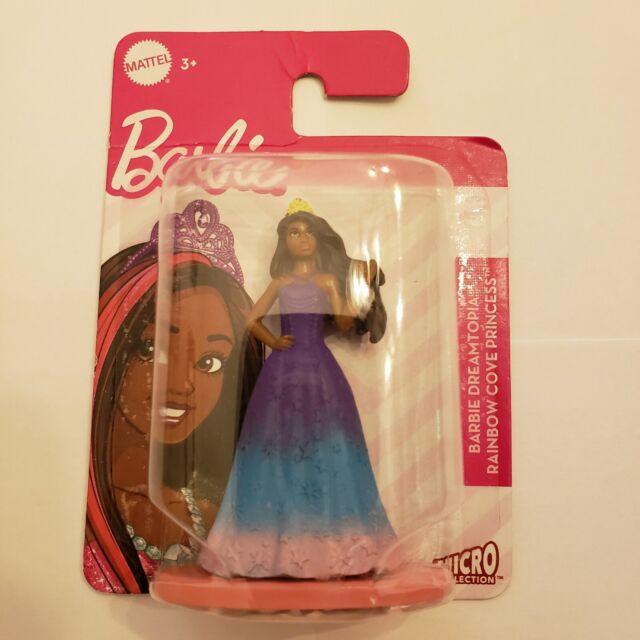 Barbie Dreamtopia Rainbow Cove Princess Mattel Micro Collection cake topper! 3in