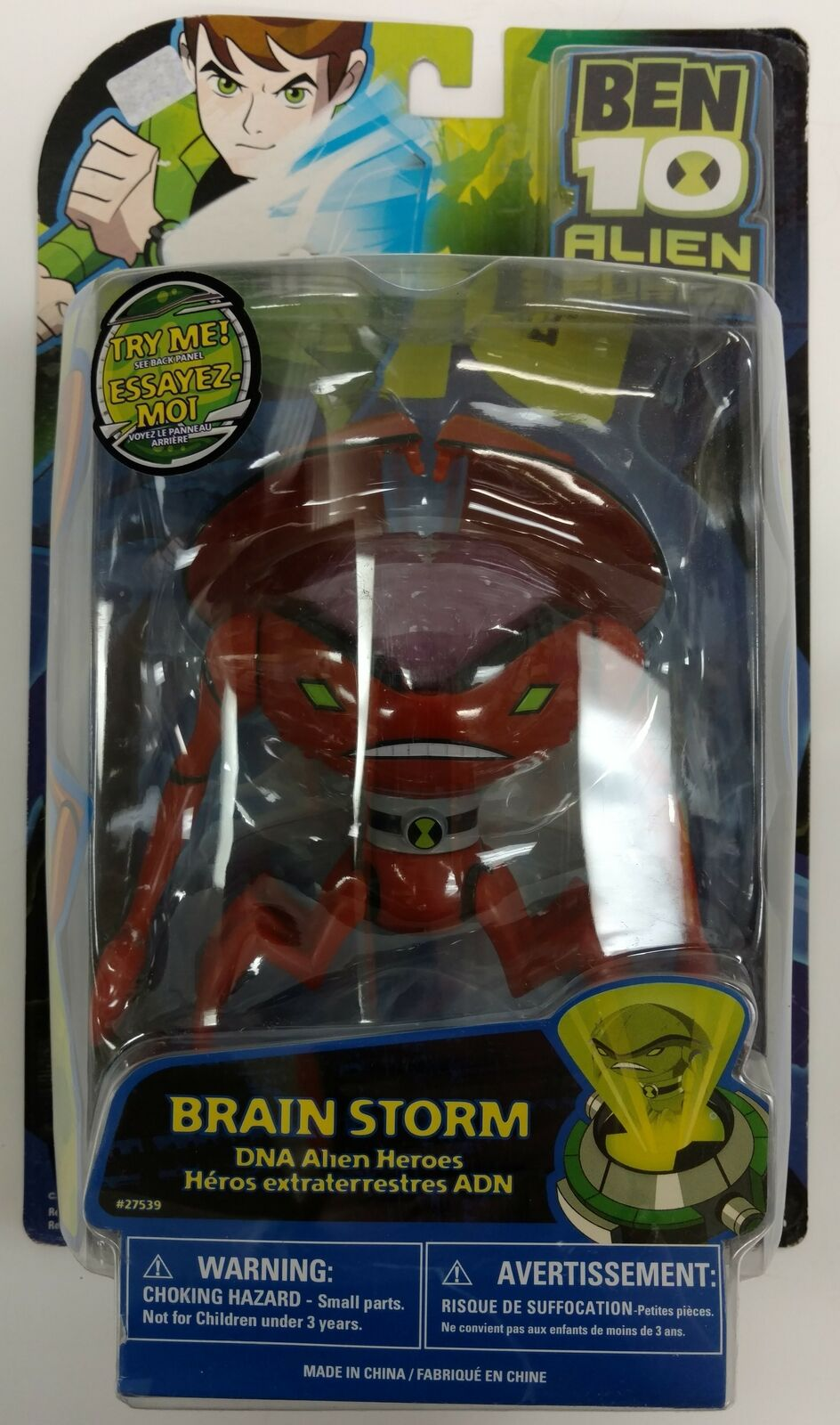 Ben Ben Ben 10 Alien Force Brain Storm cifra 2009 089e35