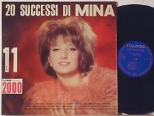 MINA disco LP 33 giri MADE in ITALY 1964 stampa ITALIANA 20 successi ITALDISC
