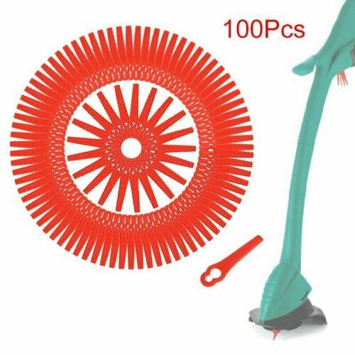 Messer //Nylon passt für Akku Rasentrimmer LO 100 Kunststoffmesser Ersatzmesser