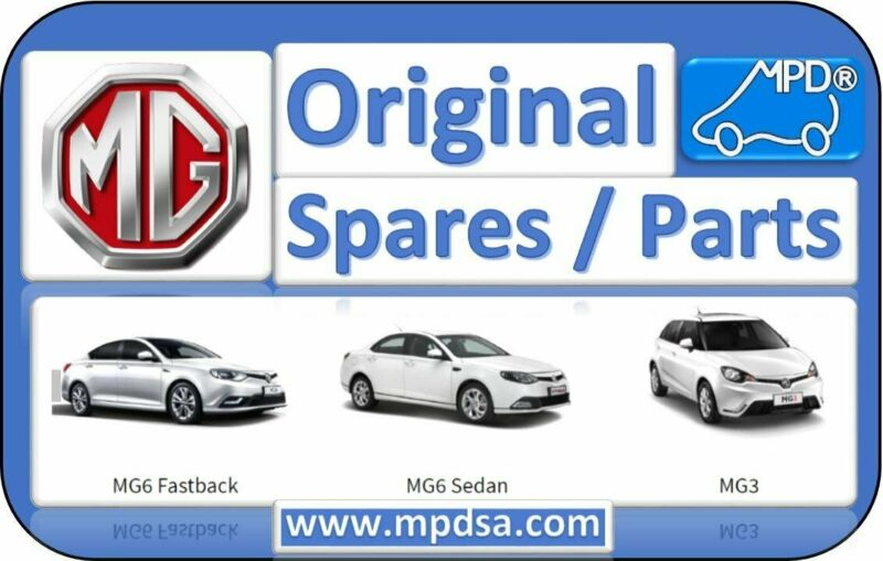 MG3 AND MG6 PARTS AGENT FOR SOUTH AFRICA - FOR THE BEST PRICES AND QUALITY CALL NOW
