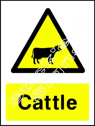 COUN0006 Stickers /& Signs Cattle