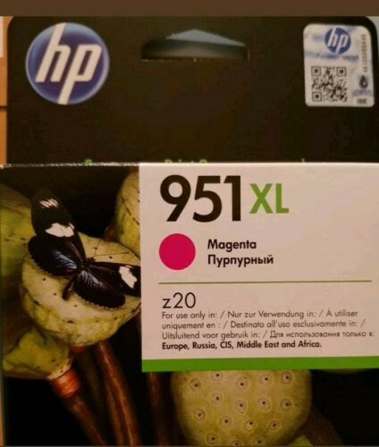 CN047AE 951xl GENUINE HP OFFICEJET PRO HIGH CAPACITY MAGENTA INK CARTRIDGE