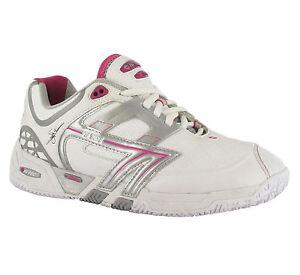 Hi-tec T701 blanc profil bas court chaussures de tennis baskets pour femme UK4-8-afficher le titre d'origine