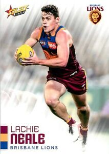 New-2020-BRISBANE-LIONS-AFL-Card-LACHIE-NEALE-Footy-Stars