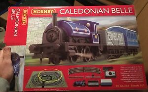 Hornby-Caledonian-Belle-Train-Set-R1151-New-and-Sealed-with-Free-UK-Postage