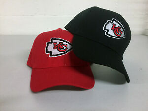 Kansas-City-Chiefs-Cap-KC-Hat-Embroidered-Game-Men-Home-Adjustable-Curved