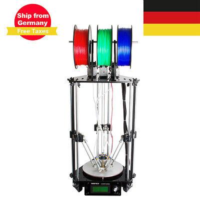 Duty Free! GEEETECH Rostock 301 3d printer Delta 3 in 1 hotend extruder