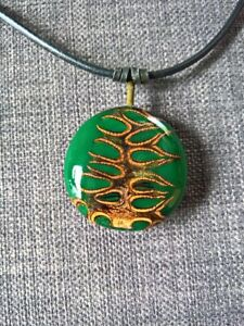 Natural-banksia-pod-green-necklace-pendent-leather-metal-handcrafted-seed