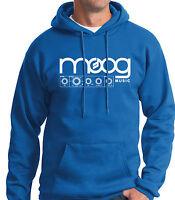 Moog Hoody Sweatshirt Synthesizer Minimoog Edm Mooger Fooger Vintage Taurus